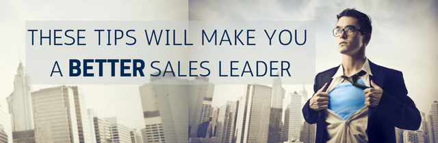 Step Up to Lead Your Sales Reps