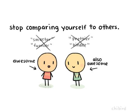 Stop Comparing Yourself To Others Success