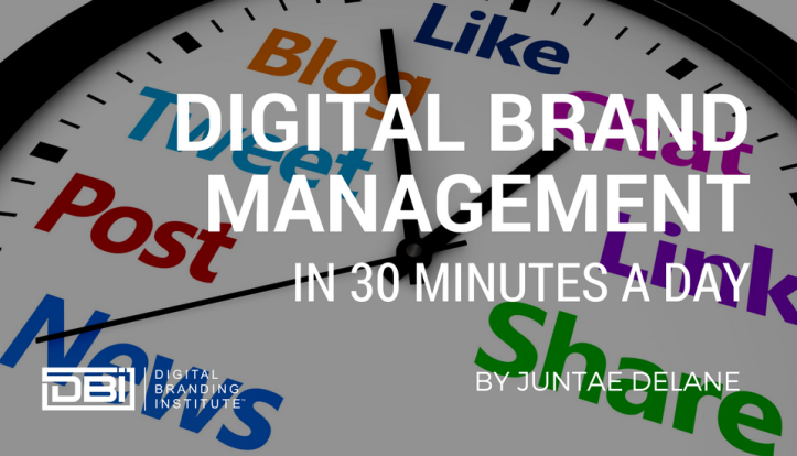 Digital Brand Management in 30 Minutes a Day