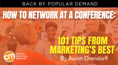 How to Network at a Conference