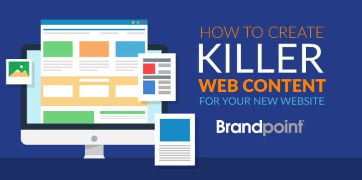 How to Create Killer Web Content for Your New Website