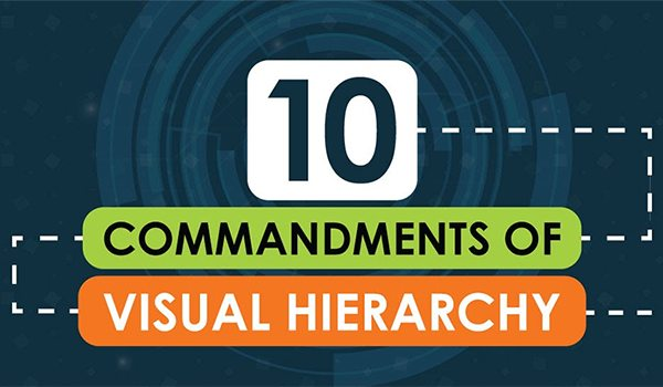 The 10 Commandments of Visual Hierarchy for a Perfect Business Website [Infographic]