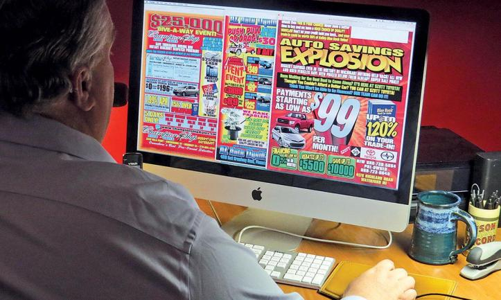Forget Internet marketing, many dealers still prefer traditional media