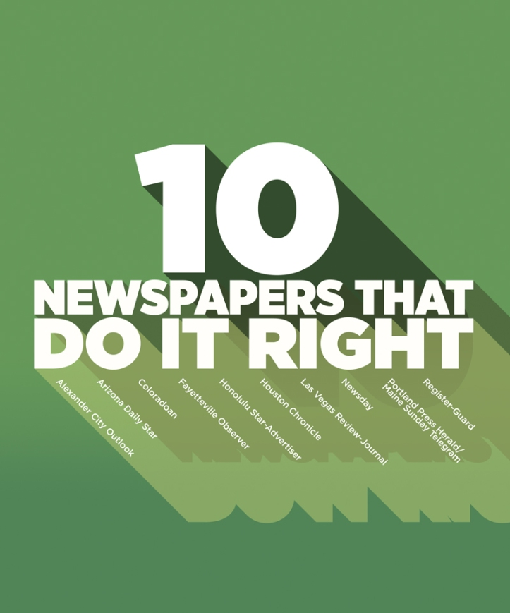 10 Newspapers That Do It Right 2018