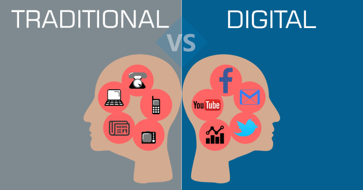 Growing From Traditional Marketing To Digital Marketing