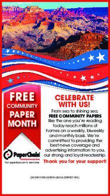 free comm. paper month