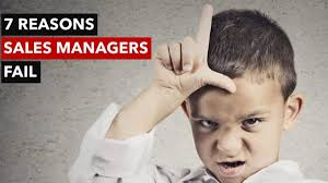 7 Reasons Sales Managers Fail