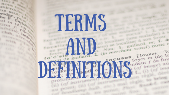 terms-and-definitions